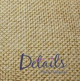 Burlap Wheat Fabric Swatch