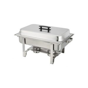 rectangle chafing dish silver