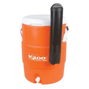 Orange Beverage Dispenser 10 Gallon