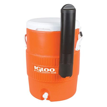 Orange Beverage Dispenser 10 Gallon