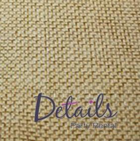 Burlap Wheat Fabric Swatch