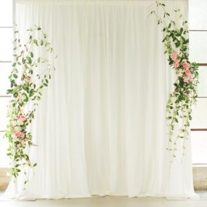 Single Layer Backdrop ceremony
