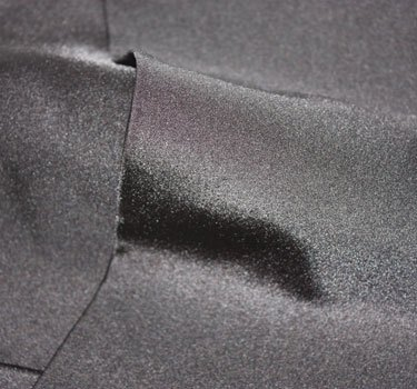 Spandex Black Fabric Swatch