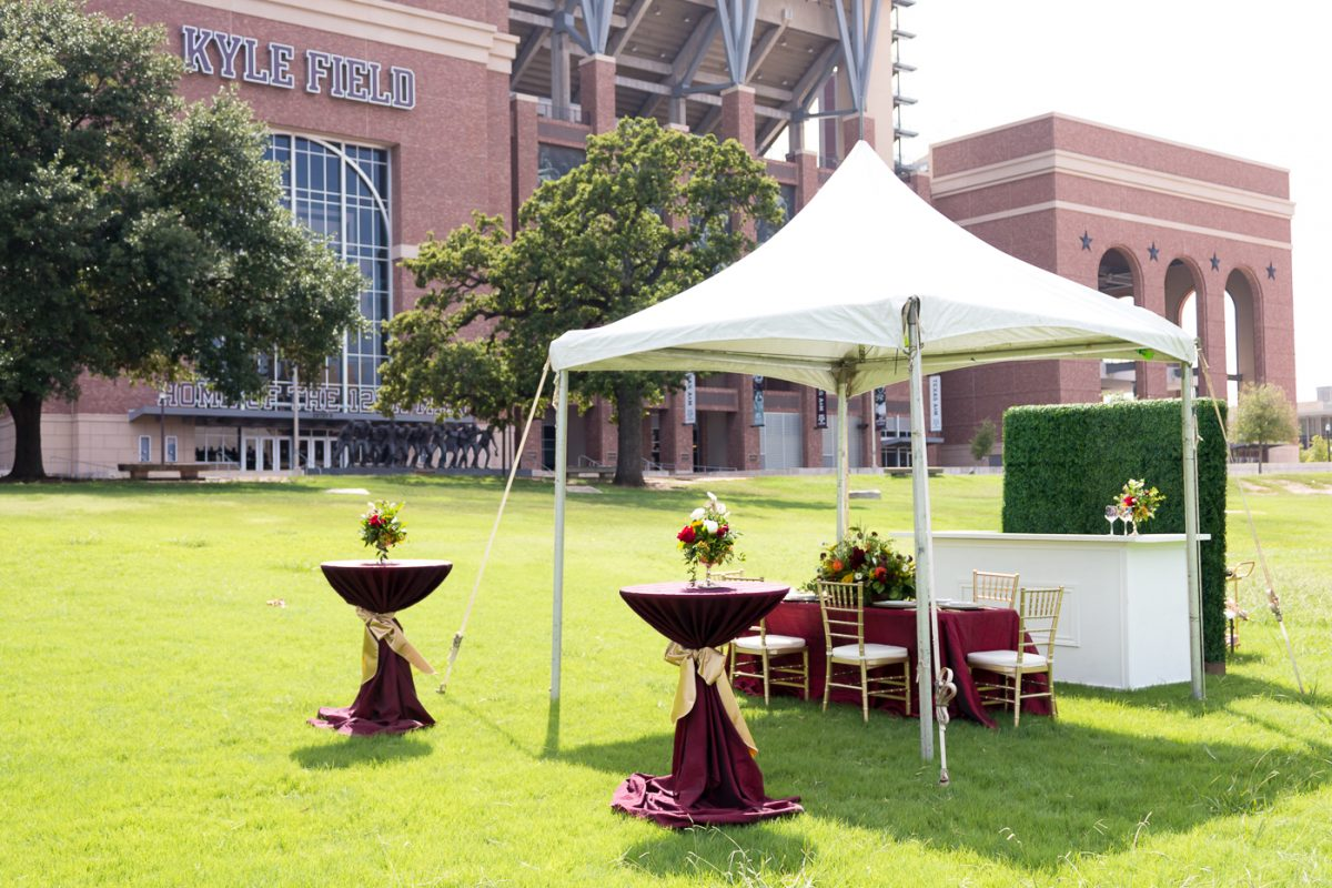 Tailgate Tent Kyle Field