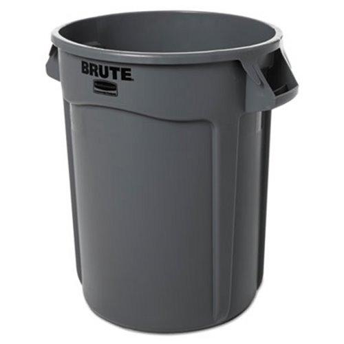 Grey Trash Can