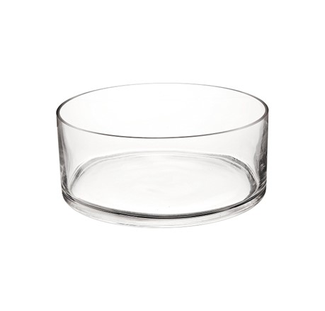 wide cylinder clear